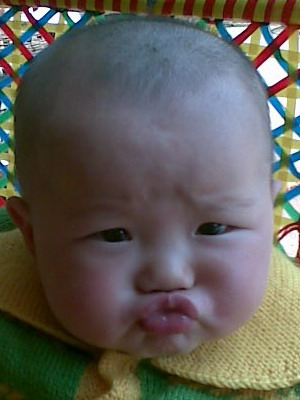 宝宝爱噘嘴 - 成长日记
